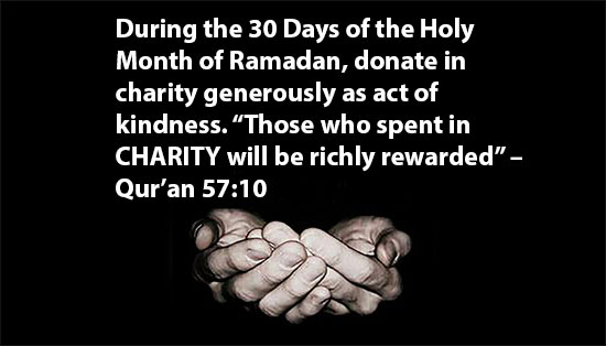 30 Days of the Holy Month